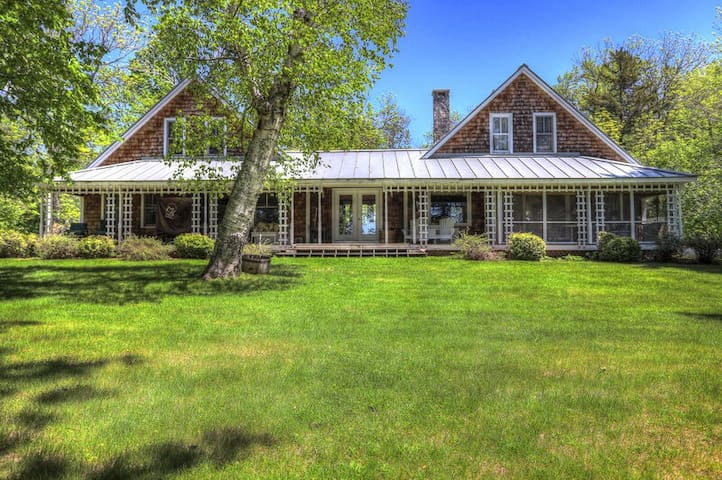 Edgewater - Private setting on Rangeley Lake, but just minutes from downtown
