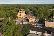 Cedarburg from above
