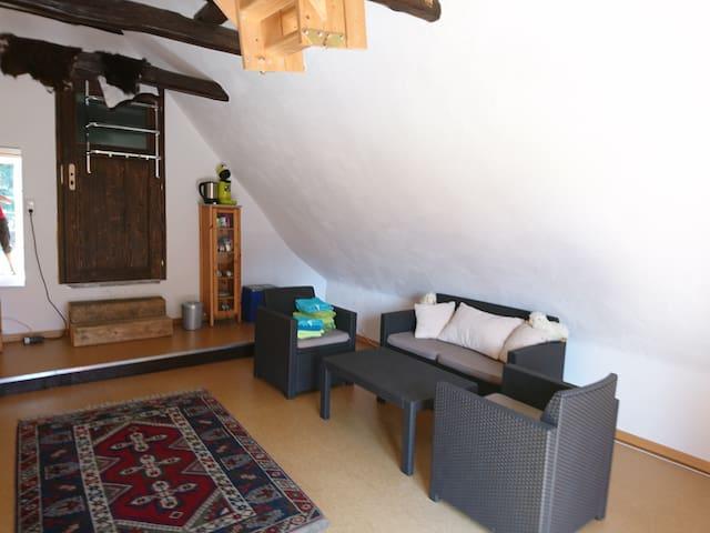 Gästezimmer - Sitzecke