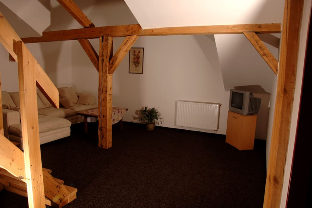 Interiér apartmá