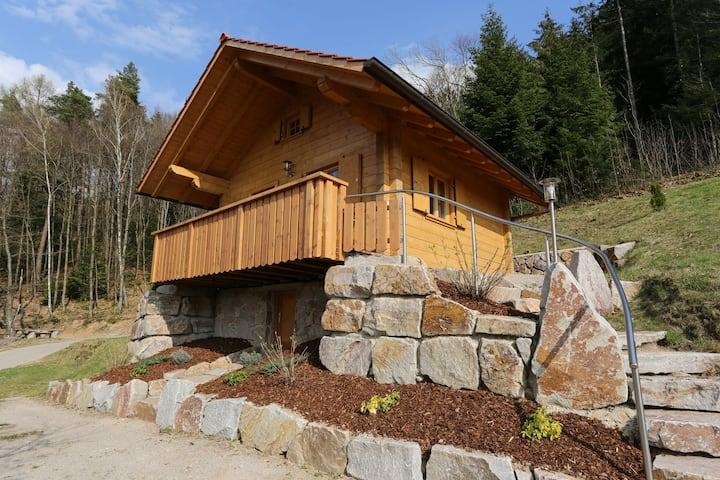 Ferienhof Fischer, (Seebach), Blockhütte Fichte für max. 4 Personen