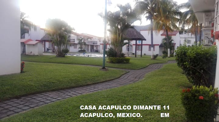 CASA EN ACAPULCO CON ALBERCA CERCA PLAYA PRINCESS