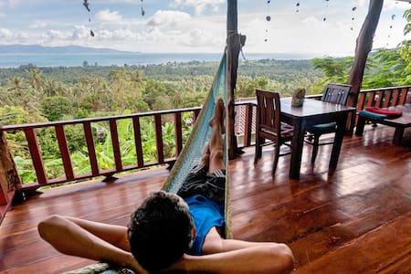 Romantic Villa With Incredible View & Sunsets - Ko Pha Ngan - Huvila