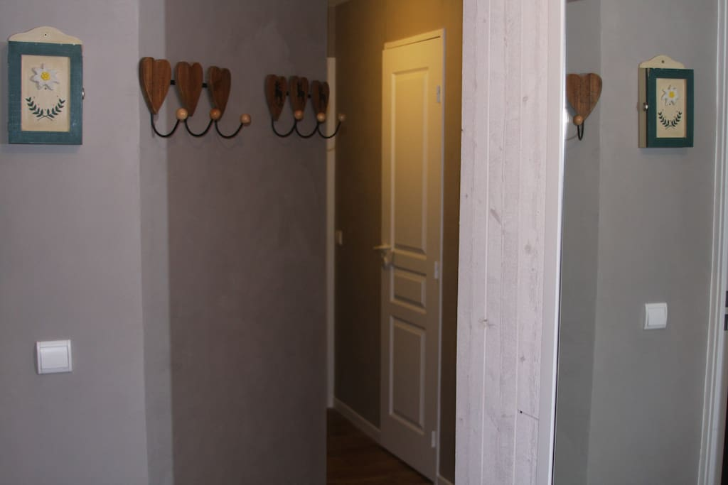 Le couloir d'entrée
