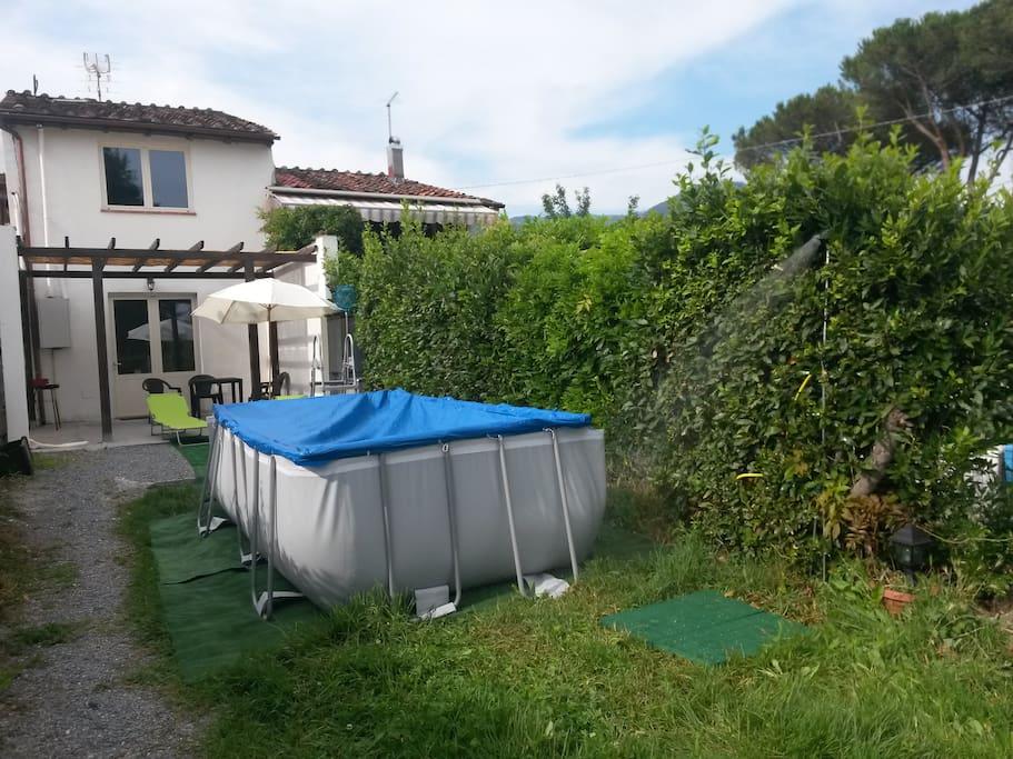 Casa Giardino Piscina A Lucca Marlia Houses For Rent