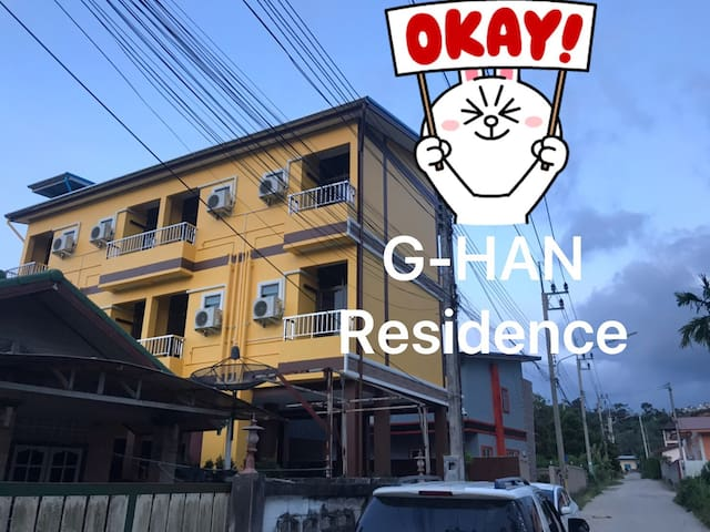 Monthly Off-New DoubleApartment by G-Han Residence