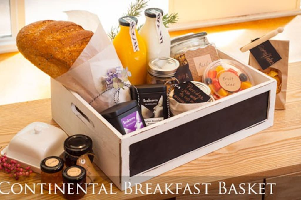 Yes, yummy continental breakfast for the first two days of your stay