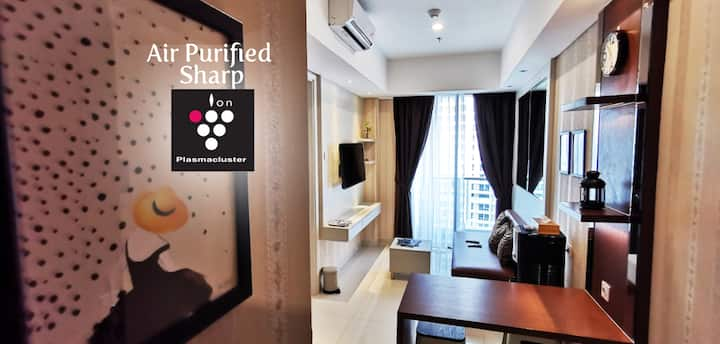 Cozy & Hygienic Suite at Taman Anggrek CBD