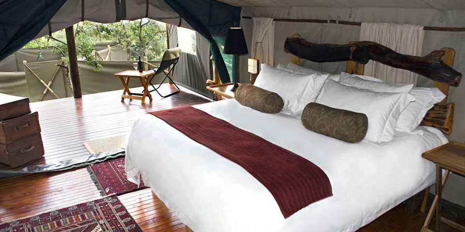 Black Leopard Camp - Ndebele (Double Tent)