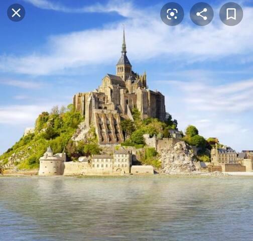 Gîte à  proximité  du Mont Saint Michel