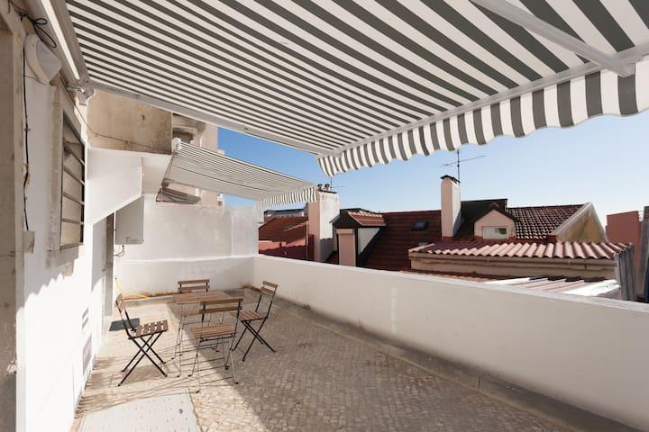 Nice Terrace Guest House in Graça