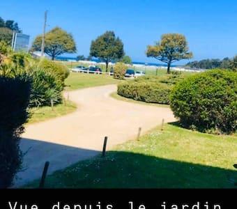 Appartement à Dinard (jardin et garage) 5min Plage