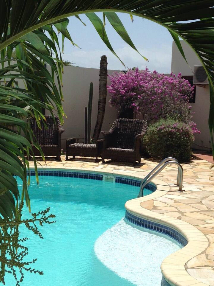 CASA BonBini Aruba Hot water/shower Pool/privacy