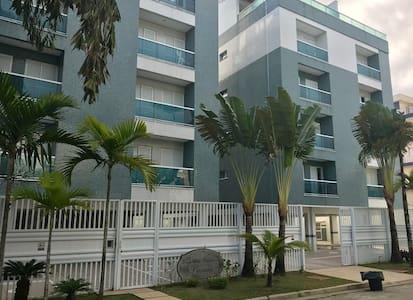 Apto em Ubatuba-2 dorm c/suite e elevador/PREMIER