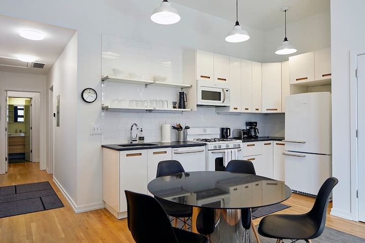 Stay in a Converted Firehouse! 2BR / 2BATH Clean!