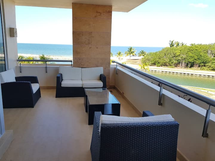 3 Room Apartment In front of beach AAKBAL CAMPECHE