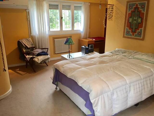 Dormitorio en suite en hermosa casa de Acassuso - Acassuso - House