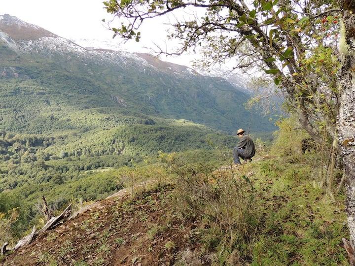 Cabaña La Frontera, Valle de El Manso