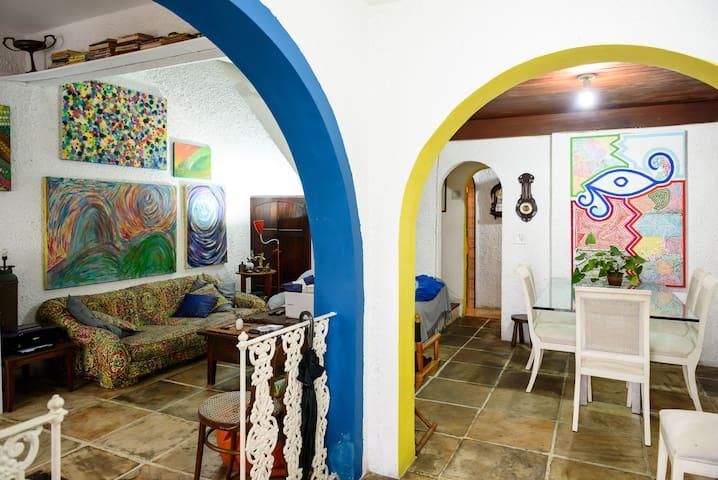 Bem vindo a Casa Azul the place to be copa ipanema - Rio de Janeiro - Huis