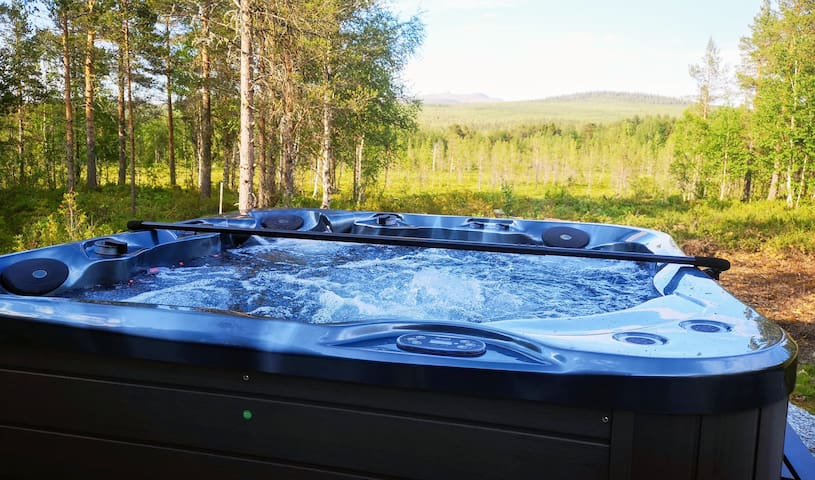Luxury house with Jacuzzi, in Funäsfjällen