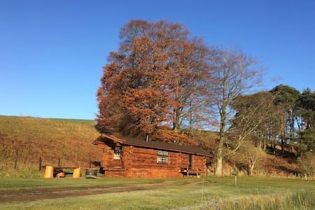 Log cabin glamping - Heads nook