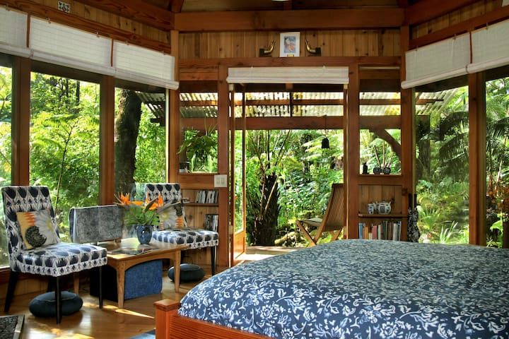 Sanctuary Cottage – Hale Ho'ano - Volcano - Bed & Breakfast
