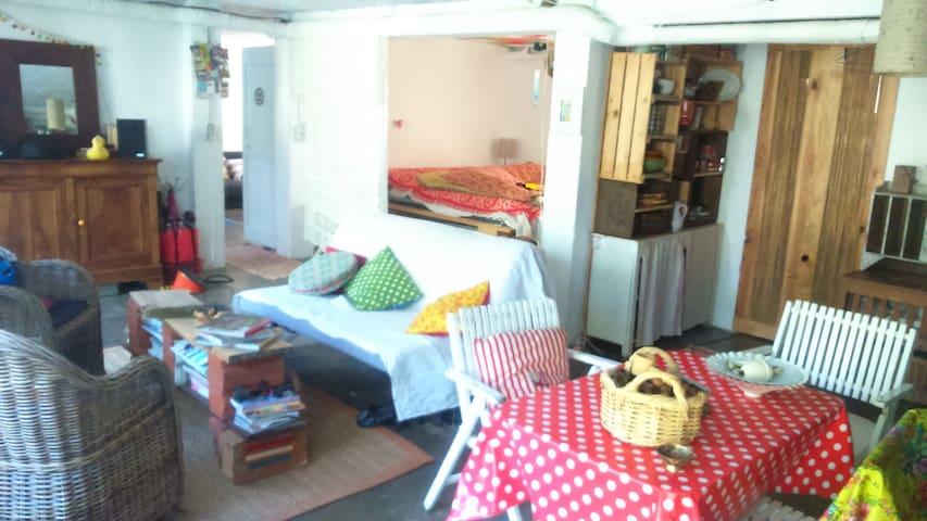 grande pièce atypique  indépendante et  jardin - Foix