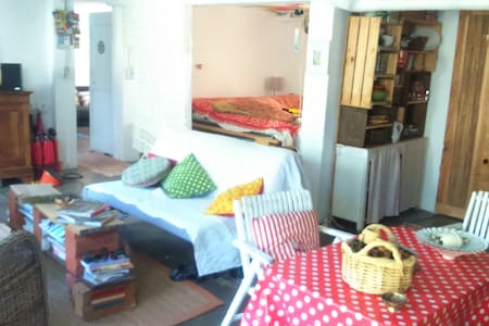 grande pièce loft indépendant jardin - Foix - Loft