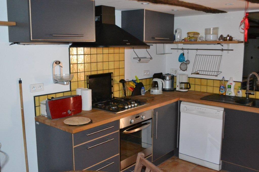 La cuisine... petite mais complète