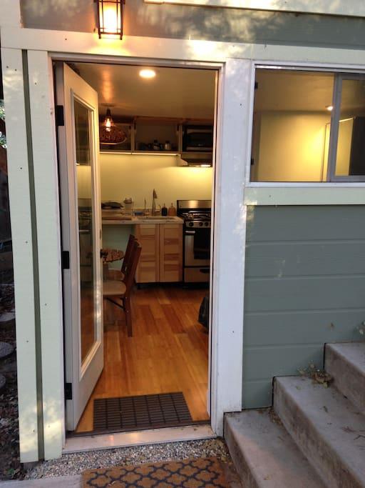 Here is the front door :)