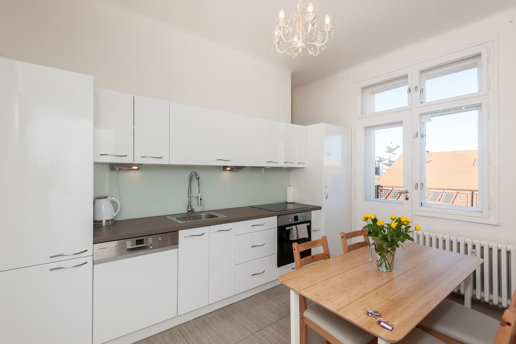 Kitchen, fully equiped