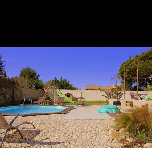 Villa Luberon, piscine privée - Pertuis - Villa