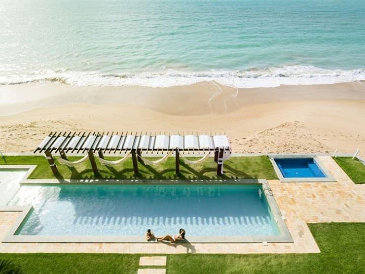 Flat Beira mar com 2 suítes!!! Waterfront