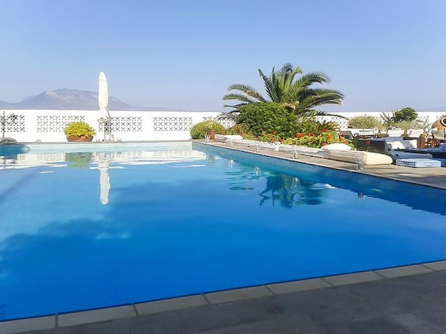 Luxury beach house w/swimming pool - Nerantza - Villa