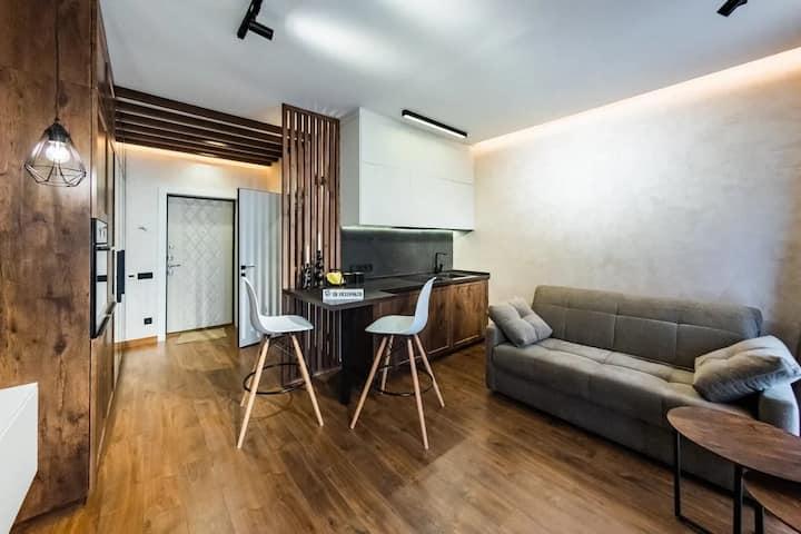 Уютные апартаменты с террасой в Адлере