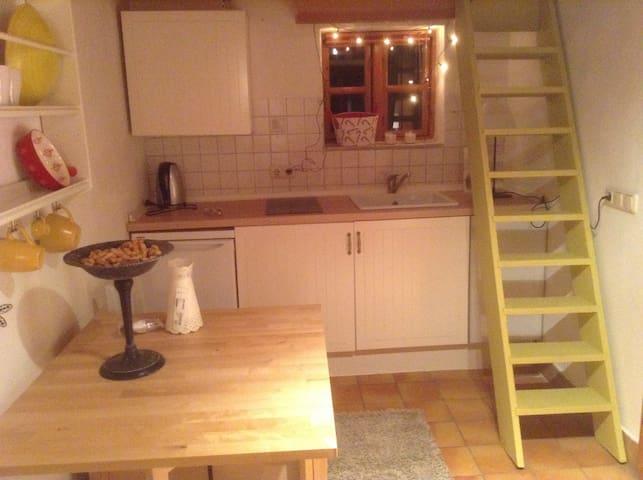 Küche/Aufgang Schlafraum