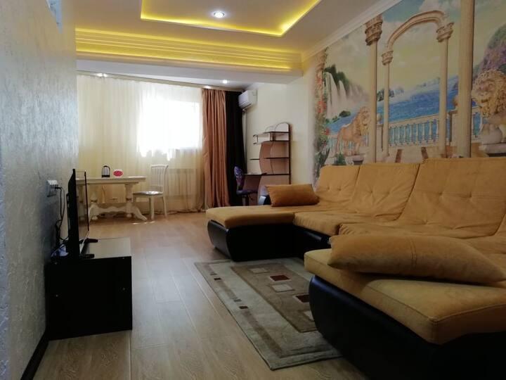 Комфортная квартира рядом с морем