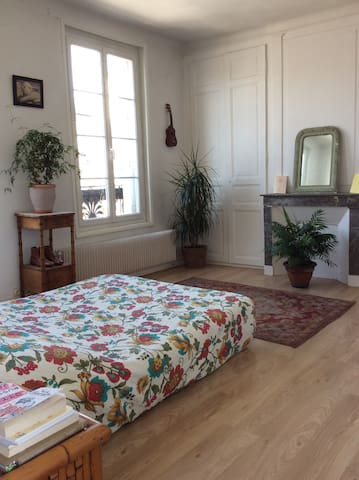 Large room downtown - Bernay - Apartamento