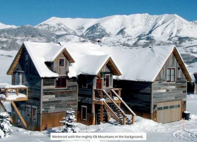 Winterset House 4 Bedroom Home - Mt. Crested Butte - Casa