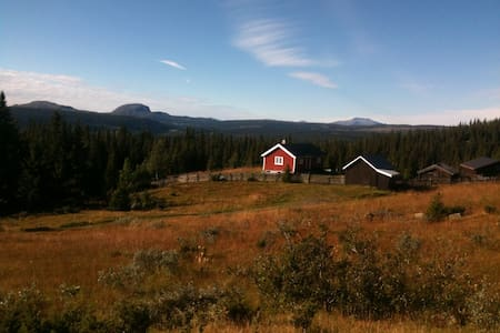 Cozy cottage in a beautiful area - Fagernes - Chatka