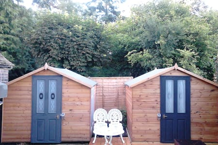 CABIN 41 Single Nr. NFTS & Pinewood.£125pw.Heated. - Beaconsfield