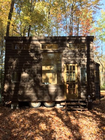 Tiny House 2 on Farm Upstate Catskills - Woodridge - Rumah