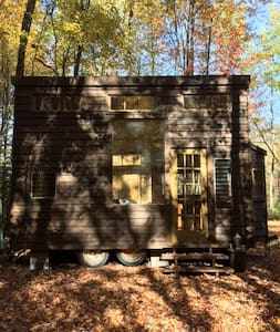 Tiny House 2 on Farm Upstate Catskills - Woodridge - Dom