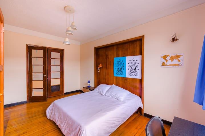 Espaciosa habitación en el centro