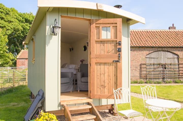 Cosy, luxury glamping experience