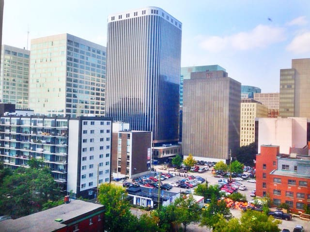 Unique Downtown Bachelor Apartment - Ottawa - Daire