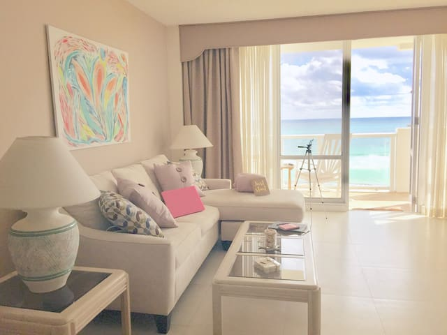 Beautiful 5*Dream Apt with Ocean-View, Balcony&Gym
