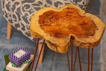 Seomra Sheáin Bedroom Custom Yew Table from The Wood Factory, Dublin