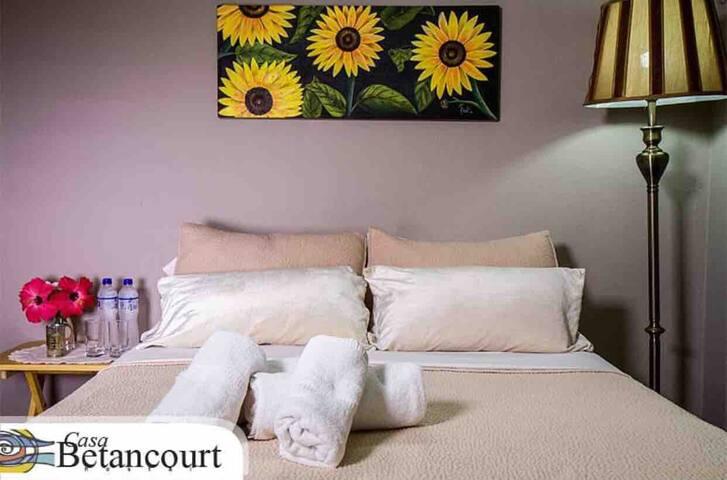 Habitación matrimonial, confortables y seguras.