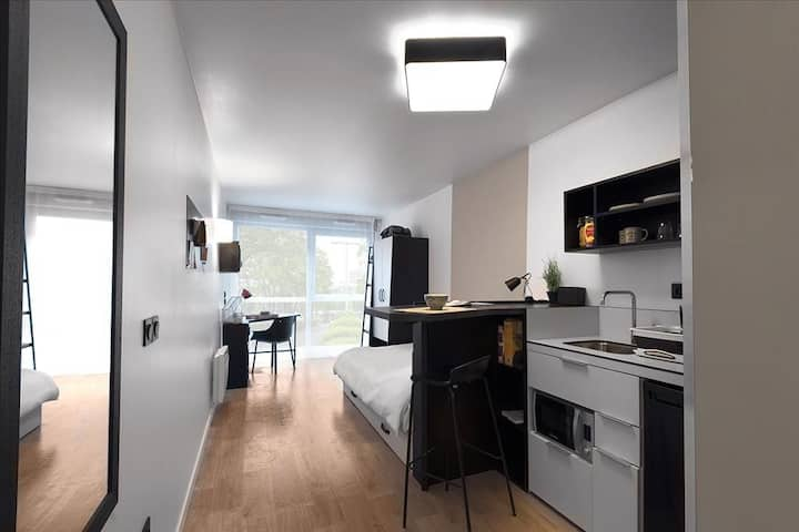 20sqm Studio 30 minutes away from South Paris